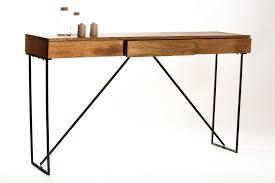 bureau bois design contemporain consoles mango