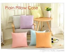 couvre canapé acheter plaine 65g coton blanc housse d oreiller vierge