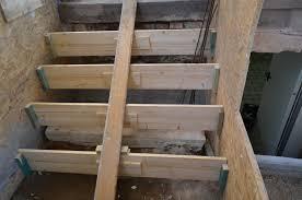 treppe betonieren es häuschen treppe abgerissen