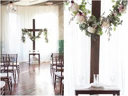 wedding backdrop altar rustic wedding katey penton photography