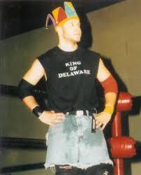 Blind Rage Wrestler Reckless Youth
