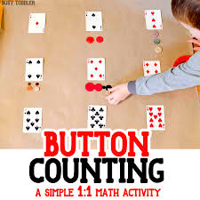 playing cards math activity busy toddler