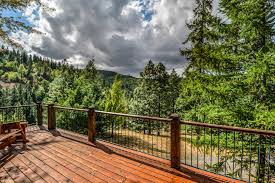 free images landscape tree forest deck wood view rustic