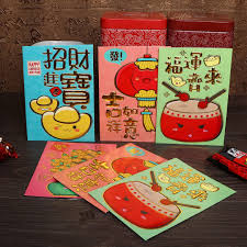 new year pocket 6pcs 2018 packet envelope festival new year lucky