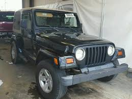 wrecked jeep wrangler for sale 1997 jeep wrangler s for sale at copart lebanon tn lot 29006026