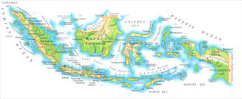 Indonesia World Map by Maps World Map Indonesia