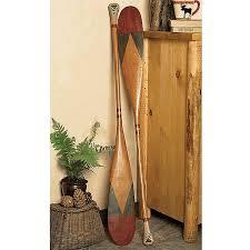 Decorative Canoe Paddles Antique Style Canoe Paddle