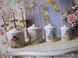 cupcake canisters for kitchen 191 best cupcake bakery shop kitchen images on