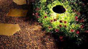 decorations brighten your garden with garden lighting ideas
