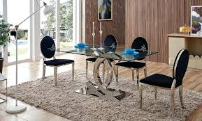 tree trunk dining table glass top dining tables dining table with black chairs modern glass
