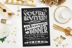 thanksgiving dinner northern virginia invitations thanksgiving dinner invite chalkboard