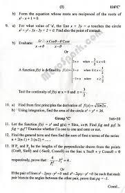 mathematics old question paper 2073 2016 grade xi paper 3