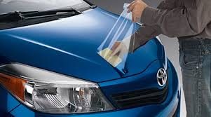 toyota yaris paint protection