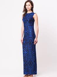 buy batik print soft maxi dress for women women u0027s blue cutout