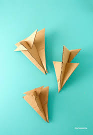 what could possibly be better than paper airplanes cardboard