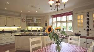 Painted Oak Kitchen Distressed Painted Oak Kitchen Alton Hampshire Beau Port