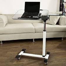 laptop desk for couch side sofa table laptop amazon com