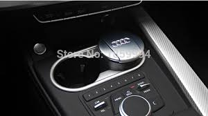 audi cup holder for 2016 2017 2018 audi a4 b9 sedan at chrome drink cup holder