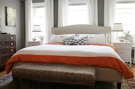 crate and barrel colette upholstered bed design ideas