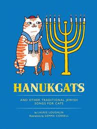 cat menorah hanukcats chronicle books