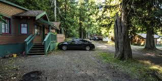 log cabin resort campground olympic national park camping in