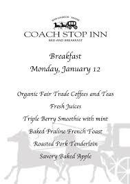 Bed And Breakfast Bar Harbor Maine Breakfast Coach Stop Inn Bed And Breakfast Bar Harbor Maine