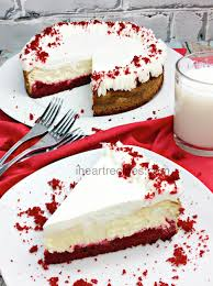 red velvet cheesecake recipe i heart recipes
