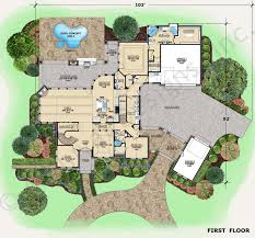 luxury villa floor plans apartments texas style house plans gray hawk french country