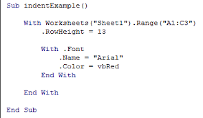 starting with vba in excel writing vba code for macros or procedures