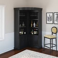 how to clean corners of cabinets ashon rustic solid wood corner bar cabinet