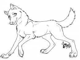 Anime Wolf Pack Coloring Pages 575487 Wolf Pack Coloring Pages