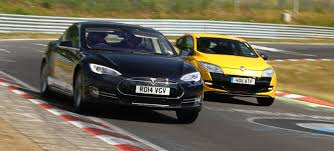 here u0027s what a tesla model s can do around the nürburgring