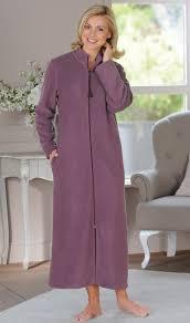 robe de chambre femme polaire robe de chambre femme longue zippee lomilomi fr vêtements
