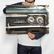 christmas gifts for him old style chevrolet impala fine art