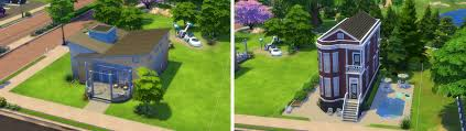 building for beginners in the sims 4 trying different styles