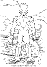 printable 52 dragon ball z coloring pages 5393 dragon ball z
