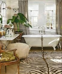 Zebra Themed Bathroom Bathroom Luxurious Brown Themed Contemporary Bathroom Plan
