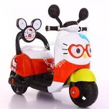 electric children car kitty scooter motor moms u0026 kids