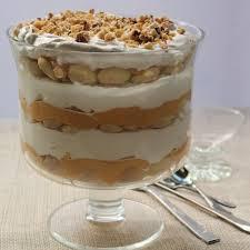 pumpkin trifle with walnuts and butterscotch sauce emerils