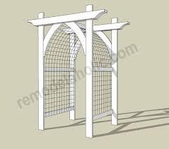 wedding arch blueprints https i pinimg 736x 01 7a 98 017a9858881d2b5