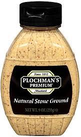plochman s mustard plochman s premium mustard ground 9 0 oz nutrition