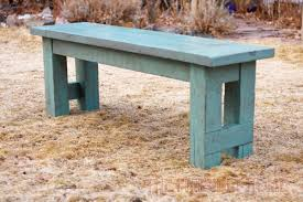 Ana White Farmhouse Bench How To Build A 52