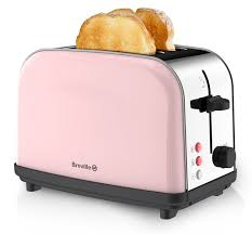 breville pick and mix 2 slice toaster strawberry cream amazon co