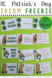 st patrick u0027s day ideas u0026 freebies literacy spark