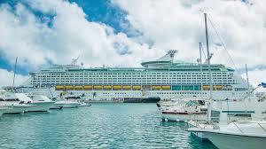 royal caribbean cruise ship explorer of the seas docked at kings
