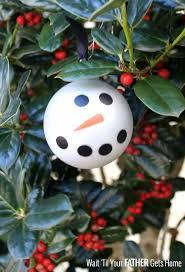 easy snowman bulbs wait til your gets home