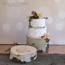 tree stump cake stand rustic log cake stand aspen wood cake stand stump cake