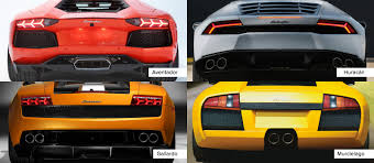 lamborghini gallardo back how to tell the difference between lamborghinis