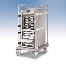 chariot chauffant cuisine chariot restocar pour distribution de repas en multi portions
