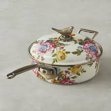 mackenzie childs l mackenzie childs saute pan 2 8 l flower williams sonoma au